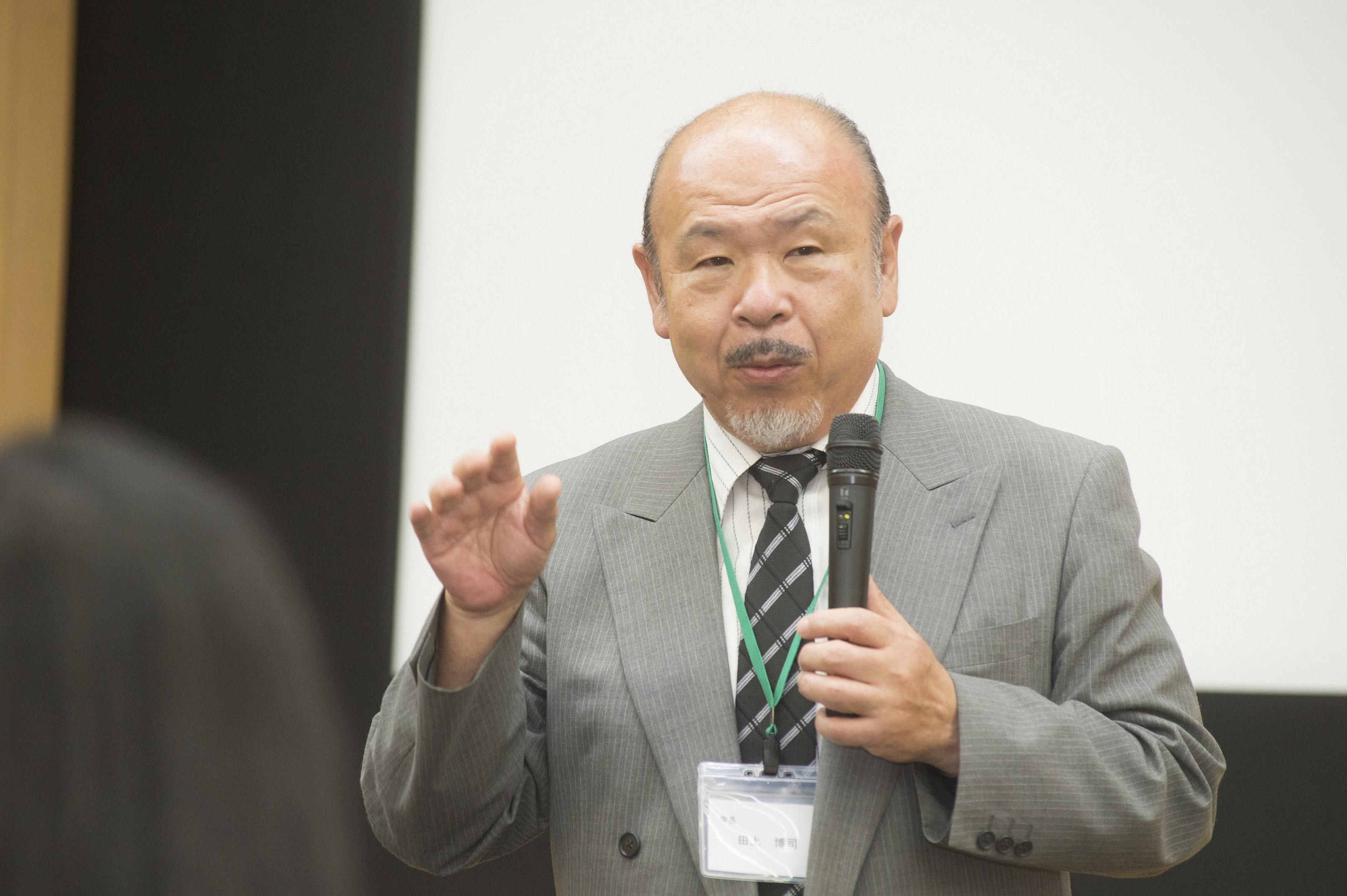 田上学長講演会